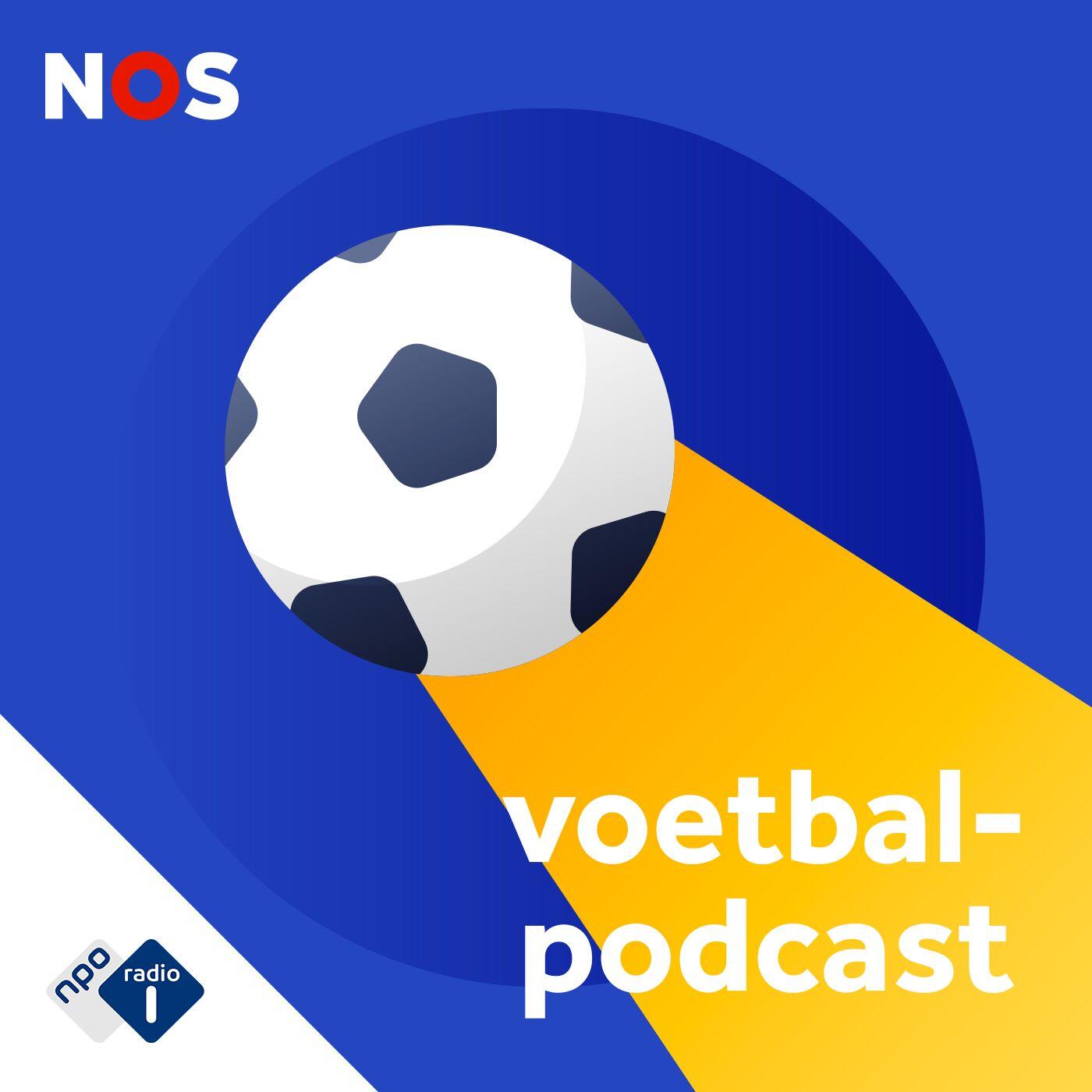 NOS Voetbalpodcast logo