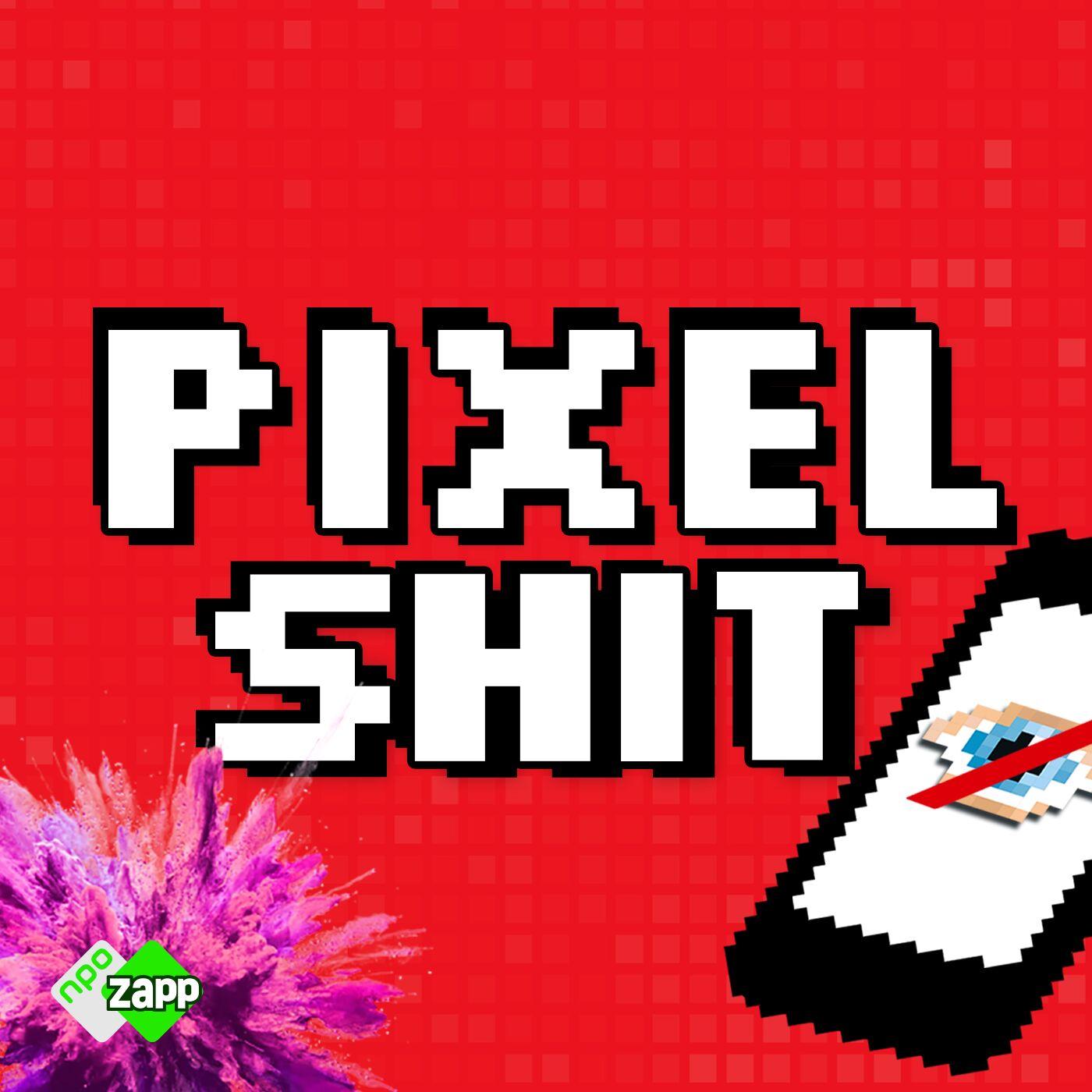 Pixelshit logo