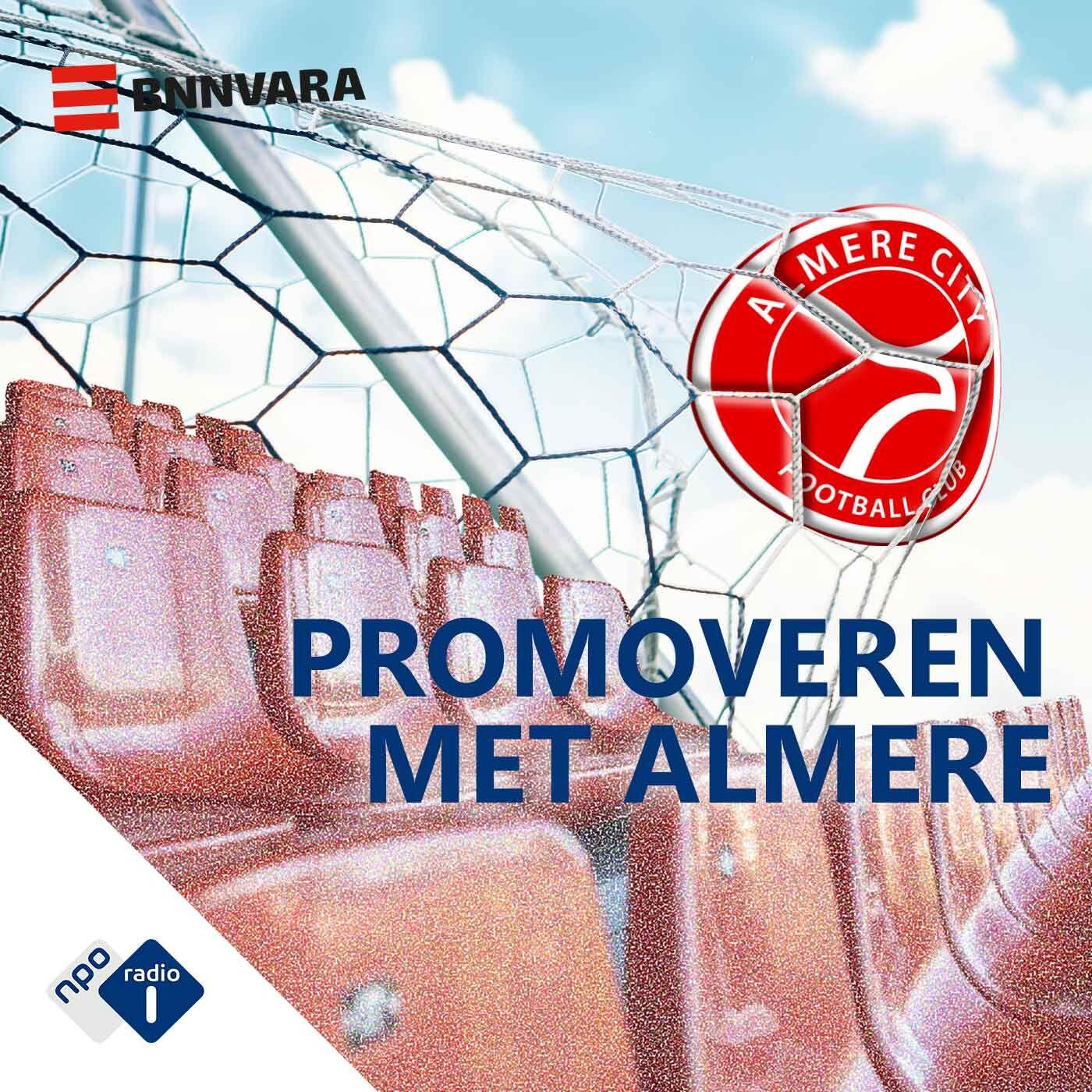 Promoveren met Almere logo