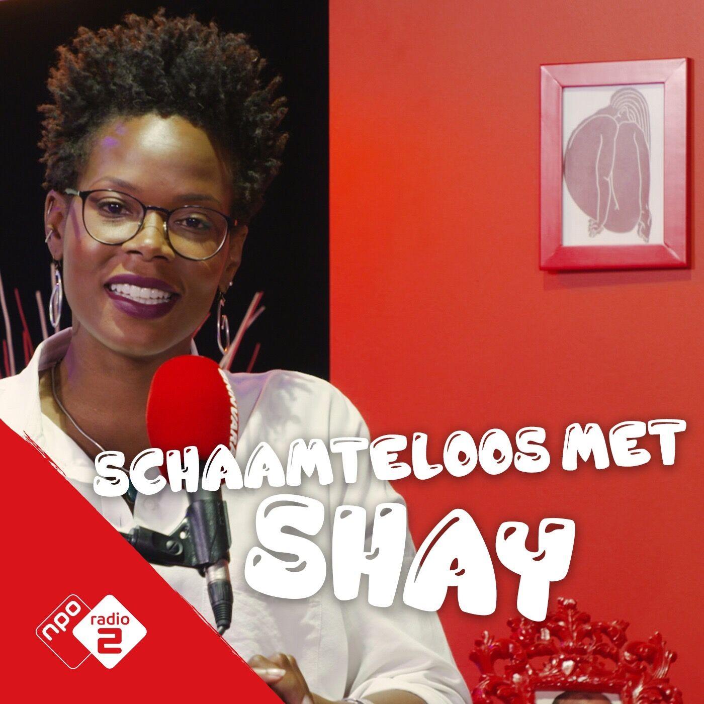Schaamteloos met Shay logo