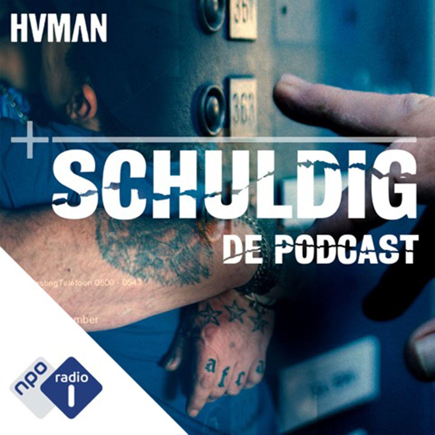 Schuldig: de podcast logo
